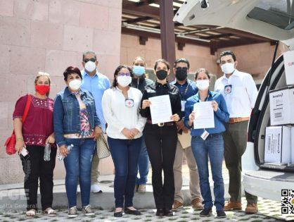 Colectivos de familiares de personas desaparecidas conocen Unidad Integral de Servicios Médicos Forenses en Nogales